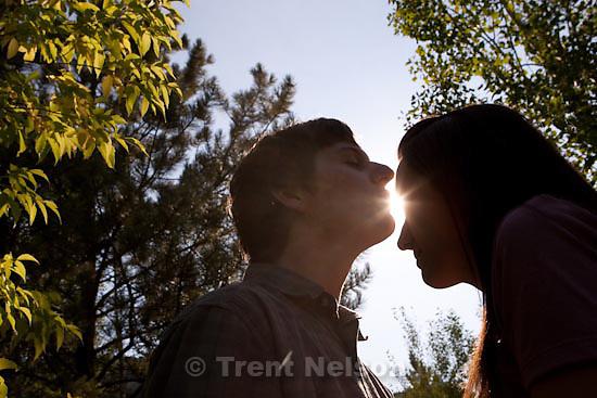 Trent Nelson  |  The Salt Lake Tribune.Sundance - Jacob Ovard engagement photos. Saturday, August 22, 2009.