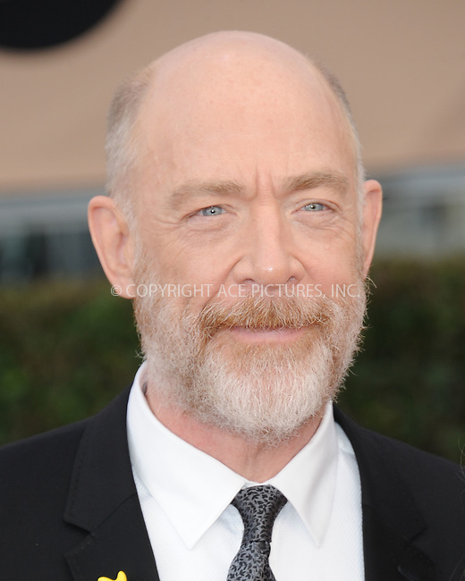 WWW.ACEPIXS.COM<br /> <br /> January 30 2016, LA<br /> <br /> J.K. Simmons arriving at the 22nd Annual Screen Actors Guild Awards at the Shrine Auditorium on January 30, 2016 in Los Angeles, California<br /> <br /> By Line: Peter West/ACE Pictures<br /> <br /> <br /> ACE Pictures, Inc.<br /> tel: 646 769 0430<br /> Email: info@acepixs.com<br /> www.acepixs.com