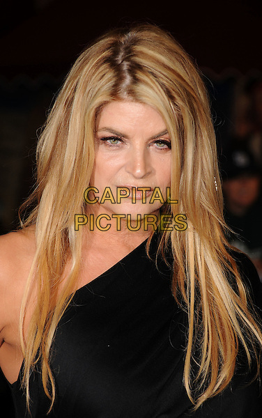 "KIRSTIE ALLEY.arriving at the World Premiere of ""Pirates Of The Caribbean: On Stranger Tides"" at Disneyland in Anaheim, California, USA, .May 7th, 2011..4 four portrait headshot  funny  messy hair roots make-up  black one shoulder  .CAP/ROT/TM.©TM/ROT/Capital Pictures"