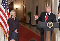 Donald Trump Names Kirstjen Nielsen as DHS Secretary
