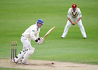 PICTURE BY VAUGHN RIDLEY/SWPIX.COM - Cricket - County Championship, Div 2 - Yorkshire v Northamptonshire, Day 3  - Headingley, Leeds, England - 01/06/12 - Yorkshire's Gary Ballance hits out.