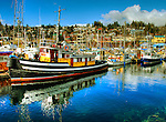 Fishing boats, Gibson's Harbour, B.C.