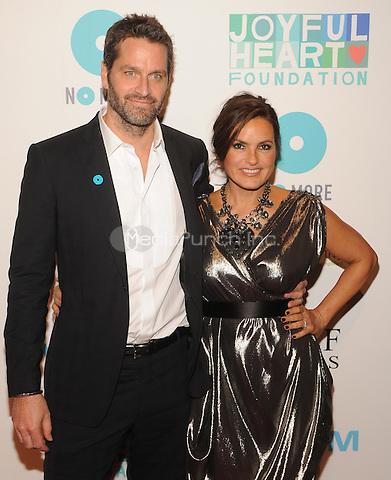 New York,NY-May 29: Peter Hermann and Mariska Hargitay Attends Mariska Hargitayís Joyful Heart Foundation 10th anniversary  in New York City on May 29, 2014. Credit: John Palmer/MediaPunch