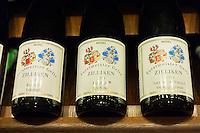 Mosel wine Forstmeister Geltz Zilliken in Wine Department at Dallmayr food store in Munich, Bavaria, Germany