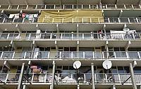 Nederland  Amsterdam - 2019. Flat in de H-Buurt in de Bijlmer.    Foto Berlinda van Dam / Hollandse Hoogte