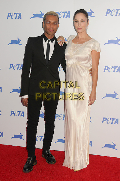 30 September 2015 - Hollywood, California - Tony Kanal, Erin Lokitz. PETA 35th Anniversary Gala held at the Hollywood Palladium. <br /> CAP/ADM/BP<br /> &copy;BP/ADM/Capital Pictures