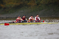 Crew: 468  MAR (H)  Marlow RC (T Mitchell) Event: 4+ B3<br /> <br /> Fours Head 2019