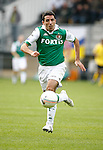 Nederland, Kerkrade, 2 november 2008 .Eredivisie .Seizoen 2008-2009 .Roda JC-Feyenoord (4-0) .Roy Makaay van Feyenoord ina ctie met bal.