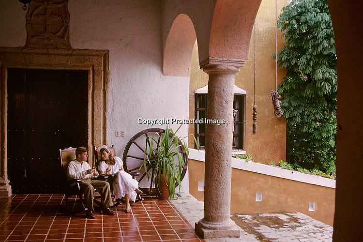 La Ruta Maya; Hacienda(MR); Yucatan; Mexico,Colonial plantation