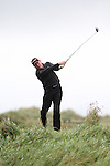 Day one of the Irish PGA championship at Seapoint Golf Club, John Kelly from St. Margarets Golf and Country Club on the 10th tee...Picture Jenny Matthews/Newsfile.ie