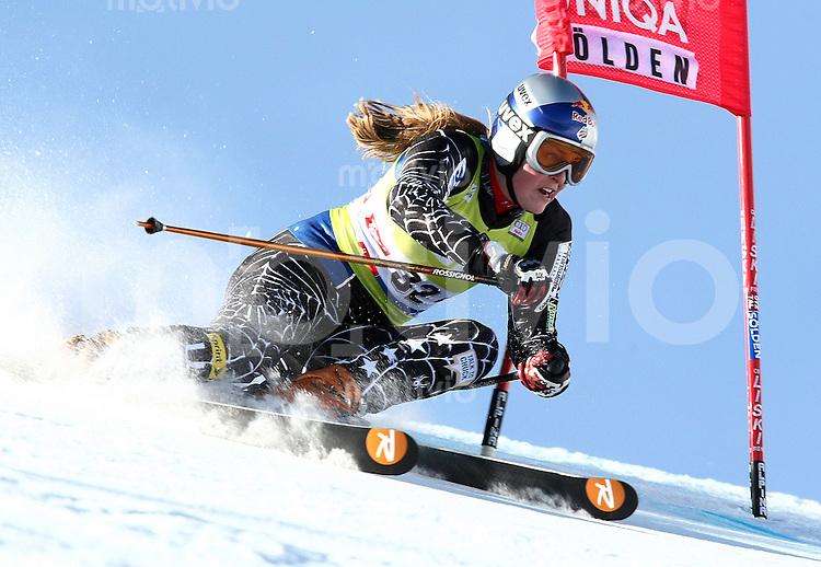 Ski Alpin; Saison 2006/2007  Riesenslalom Soelden Damen Lindsey Vonn (USA)