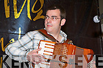 Alan Kelly performing in the Scattering concert at the Gathering Traditional festival in the Gleneagle Hotel on Saturday night ......