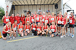 Members of Drogheda and District AC who ran in the Dunleer 4 mile run. Photo: Colin Bell/pressphotos.ie