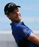 Danny Willett (ENG) on the practice ground during the ASI Scottish Open 2018, at Gullane, East Lothian, Scotland.  11/07/2018. Picture: David Lloyd | Golffile.<br /> <br /> Images must display mandatory copyright credit - (Copyright: David Lloyd | Golffile).