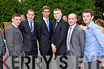 Students at a combined Killarney debs enjoying themselves at the Earl of Desmond Hotel on Thursday night  left to right: Brian Lynch, James Magee, Jack O Neill, Jason Brennan, Robert Enright, Patrick O Donoghue