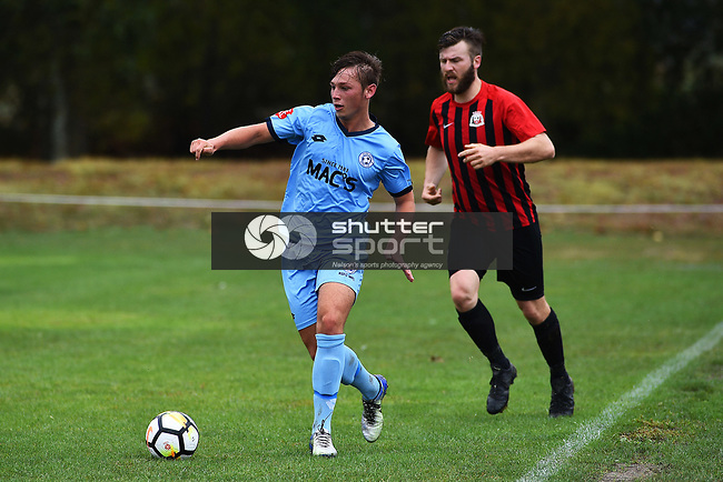 NELSON, NEW ZEALAND - MPL - Nelson Suburbs v Western Utd. Saxton Field, Richmond, New Zealand. Saturday 9 March 2019. (Photo by Chris Symes/Shuttersport Limited)