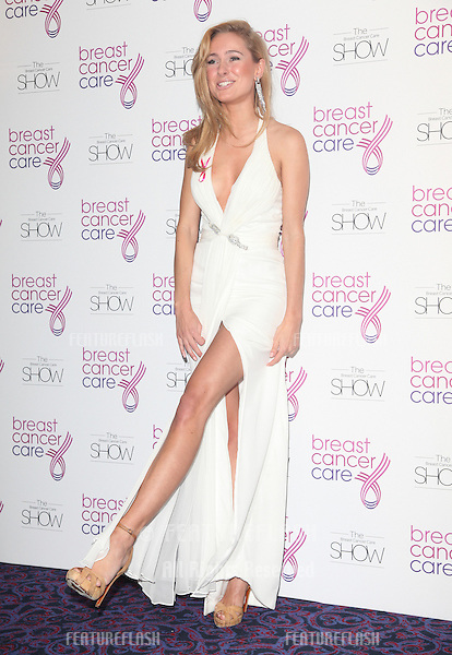 Kimberley Garner arriving for the Breast Cancer Care Fashion Show, Grosvenor House Hotel, London. 02/10/2012 Picture by: Alexandra Glen / Featureflash