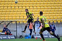 Wellington Phoenix&rsquo; Daniel Mullen in action during the A League - Wellington Phoenix v Melbourne Victory FC at Westpac Stadium, Wellington, New Zealand on Sunday 3 December.<br /> Photo by Masanori Udagawa. <br /> www.photowellington.photoshelter.com