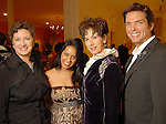 From left: Tamara Klosz Bonar, Neha Gupta, Linda Kuykendall and Lenny Matuszewski at the Night of Stars Gala honoring Houston's top fashion designers at the Junior League of Houston Tuesday Nov. 03,2009. (Dave Rossman/For the Chronicle)