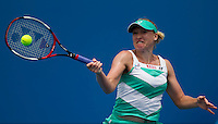 Elena Baltacha (GBR) against Kateryna Bondarenko (UKR) (30) in the Second Round of the Womens Singles. Baltacha beat Bondarenko 6-2 7-5..International Tennis - Australian Open Tennis - Wednesday 20 Jan 2010 - Melbourne Park - Melbourne - Australia ..© Frey - AMN Images, 1st Floor, Barry House, 20-22 Worple Road, London, SW19 4DH.Tel - +44 20 8947 0100.mfrey@advantagemedianet.com