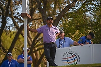 Shubhankar Sharma (IND) waits to tee off on 12 during round 1 of the World Golf Championships, Dell Match Play, Austin Country Club, Austin, Texas. 3/21/2018.<br /> Picture: Golffile | Ken Murray<br /> <br /> <br /> All photo usage must carry mandatory copyright credit (&copy; Golffile | Ken Murray)