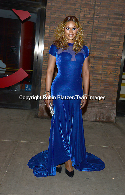 Laverne Cox attends the Glamour Women of the Year Awards on November 10, 2014 at Carnegie Hall in New York City. <br /> <br /> photo by Robin Platzer/Twin Images<br />  <br /> phone number 212-935-0770