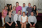 Michael Carter with his girlfriend Sarah Dyas and his family at his 21st in The Star and Crescent......Photo NEWSFILE/Jenny Matthews.(Photo credit should read Jenny Matthews/NEWSFILE)....This Picture has been sent you under the condtions enclosed by:.Newsfile Ltd..The Studio,.Millmount Abbey,.Drogheda,.Co Meath..Ireland..Tel: +353(0)41-9871240.Fax: +353(0)41-9871260.GSM: +353(0)86-2500958.email: pictures@newsfile.ie.www.newsfile.ie.FTP: 193.120.102.198.