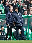 29.04.18 Celtic v Rangers: Jimmy Nicholl and Graeme Murty