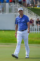 Justin Thomas (USA) sinks his birdie putt on 11 during round 2 of the WGC FedEx St. Jude Invitational, TPC Southwind, Memphis, Tennessee, USA. 7/26/2019.<br /> Picture Ken Murray / Golffile.ie<br /> <br /> All photo usage must carry mandatory copyright credit (© Golffile | Ken Murray)
