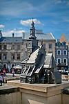 Plac Po Farze, model Fary Św. Michała (XIII-XVI w. skala 1:40). Lublin, stare miasto