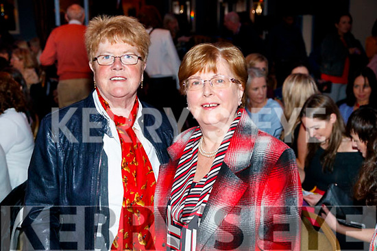 Anne O'Sullivan and Helen Murphy, pictured at Sickly Come Dancing, UHK, at Ballygarry House Hotel & Spa, Tralee on Friday night last.