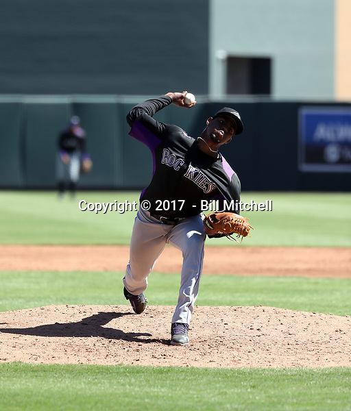 Antonio Santos - 2017 AIL Rockies (Bill Mitchell)