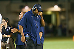 McNeil head coach, Howard McMahan at Kelly Reeves Athletic Complex, September 30, 2016.  (LOURDES M SHOAF for Statesman.)