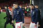 Granit Xhaka of Arsenal  walks out during the UEFA Europa League match at the Emirates Stadium, London. Picture date: 28th November 2019. Picture credit should read: David Klein/Sportimage