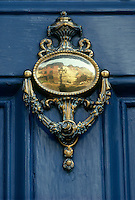 Door knocker, Louisburg Square, Beacon Hill, Boston, MA