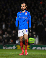 Marcus Harness of Portsmouth during Portsmouth vs Arsenal, Emirates FA Cup Football at Fratton Park on 2nd March 2020