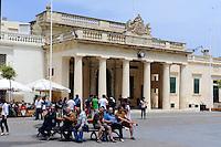 Alte Hauptwache in in Valletta, Malta, Europa, Unesco-Weltkulturerbe