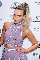 Perrie Edwards (Little Mix)<br /> at the Radio 1 Teen Awards 2016, Wembley Arena, London.<br /> <br /> <br /> ©Ash Knotek  D3188  22/10/2016