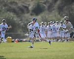 Ole MIss' Jake Finnen (24) vs. Georgia Tech in lacrosse at the Ole Miss Intramural Fields in Oxford, Miss. on Saturday, February 2, 2013. Georgia Tech won 8-5.