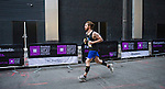 Runners participate at the Bloomberg Square Mile Relay at the Seaport District in New York, USA. Photo by Juan Manuel Serrano / Power Sport Images