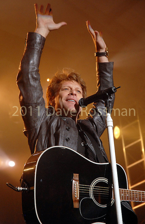 Bon Jovi provided the entertainment at the Lanier Law Firm's Holiday Bash Sunday Dec. 13,2009.(Dave Rossman/For the Chronicle)