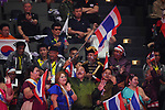 Fans (THA), <br /> AUGUST 22, 2018 - Taekwondo : Men's -63kg Round 32 at Jakarta Convention Center Plenary Hall during the 2018 Jakarta Palembang Asian Games in Jakarta, Indonesia. <br /> (Photo by MATSUO.K/AFLO SPORT)