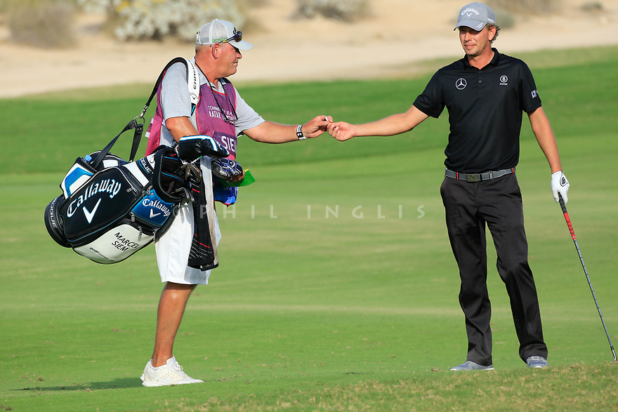 Marcel Siem (GER) during the second round of the Commercial Bank Qatar Masters played at Doha Golf Club, Qatar. 23/02/2018<br /> Picture: Golffile | Phil Inglis<br /> <br /> <br /> All photo usage must carry mandatory copyright credit (&copy; Golffile | Phil Inglis)