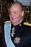 09.10.2012. King Juan Carlos I of Spain attend the reception of credentials of the new Ambassador of Kingdom of Norway, Johan Vibe Christopher, in the Royal Palace in Madrid, Spain. In the image King Juan Carlos (Alterphotos/Marta Gonzalez)