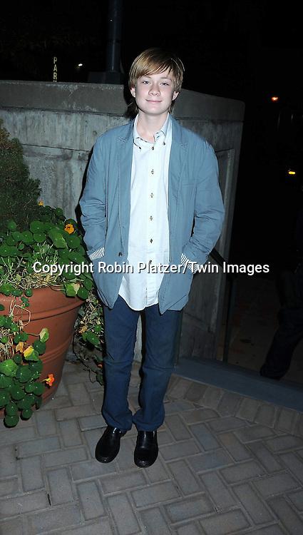 Austin Williams attending ABC Casino Night on October 28, 2010 at Guastavinos in New York City. .