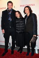 "NEW YORK, NY - NOVEMBER 12: Peter Hermann, Gaby Tana, Mariska Hargitay at the New York Premiere Of The Weinstein Company's ""Philomena"" held at Paris Theater on November 12, 2013 in New York City. (Photo by Jeffery Duran/Celebrity Monitor)"