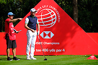 Brett Rumford (AUS) during the 1st round at the WGC HSBC Champions 2018, Sheshan Golf CLub, Shanghai, China. 25/10/2018.<br /> Picture Phil Inglis / Golffile.ie<br /> <br /> All photo usage must carry mandatory copyright credit (&copy; Golffile | Phil Inglis)