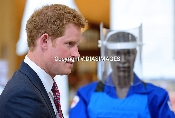 "PRINCE HARRY VISITS HALO TRUST EXHIBIT.on the occasion of their 25th anniversary, Senate Russell House, Washington DC_09/05/2013.Prince Harry has recently taken up his mother Princess Diana's mantel as Patron of the Halo Trust..The Halo Trust is involved in the stopping of the use of land mines..He was met on arrival by Republican Senator John McCain..Prince Harry is on a week long USA visit the includes Washington, Denver, Colorado Springs, New Jersey, New York and Conneticut..Mandatory credit photo:©DIASIMAGES..(Failure to credit will incur a surcharge of 100% of reproduction fees)..**ALL FEES PAYABLE TO: ""NEWSPIX  INTERNATIONAL""**..Newspix International, 31 Chinnery Hill, Bishop's Stortford, ENGLAND CM23 3PS.Tel:+441279 324672.Fax: +441279656877.Mobile:  07775681153.e-mail: info@newspixinternational.co.uk"