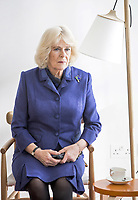 06/02/2020 - Camilla Duchess of Cornwall during a visit to Maggies at The Royal Marsden in Sutton, Greater London. Photo Credit: ALPR/AdMedia