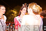 Luxembourg Rose Nicola McEvoy, the 2012 Rose of Tralee at the Denny Street stage on Tuesday for Midnight Madness surrounded by fellow Roses.